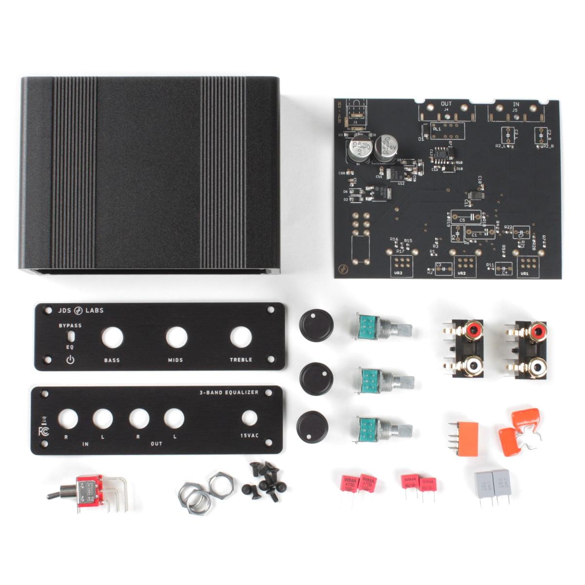 JDS Labs - 3-Band Equalizer DIY Kit - DIY Kits