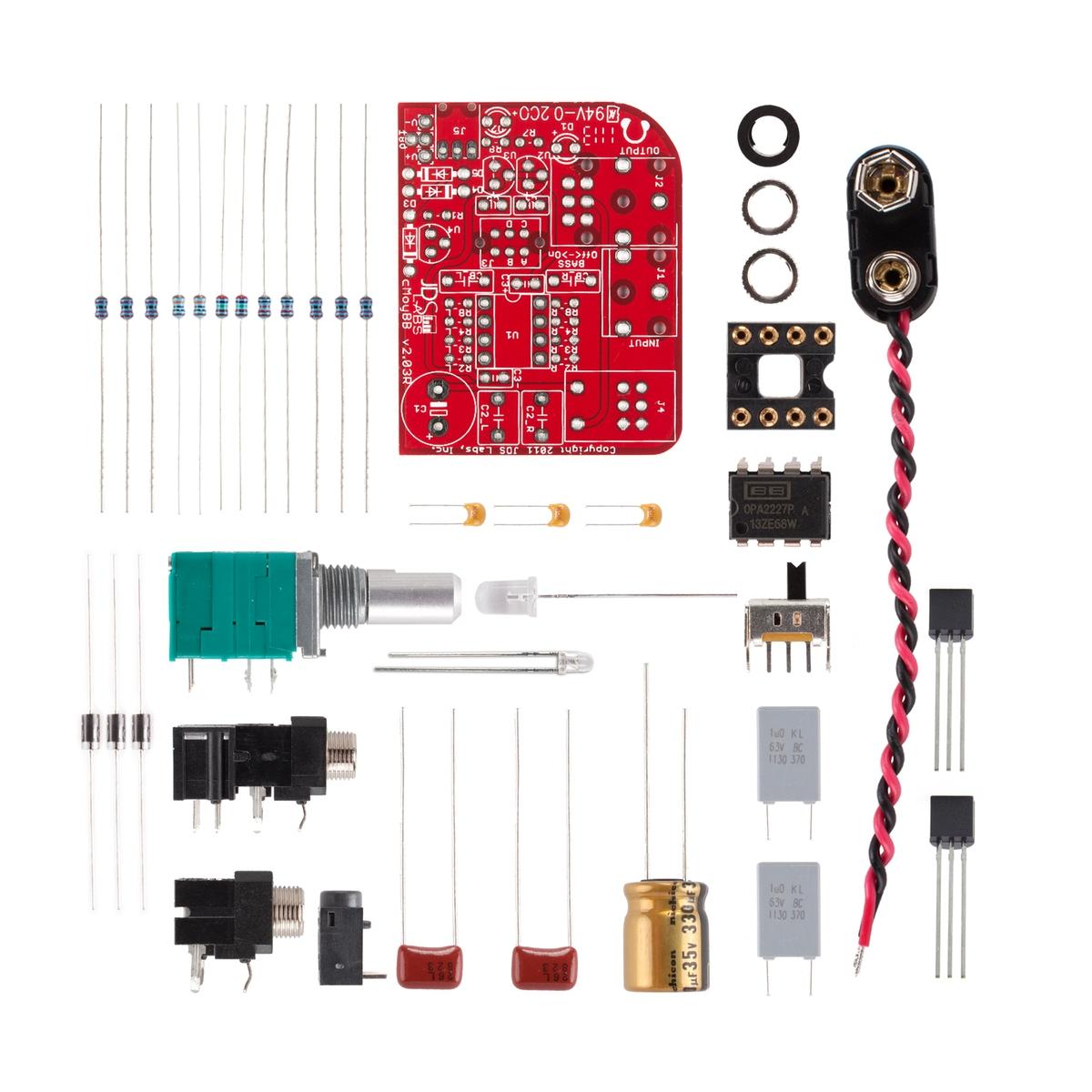 JDS Labs - cMoyBB DIY Kit, Rechargeable - DIY Kits