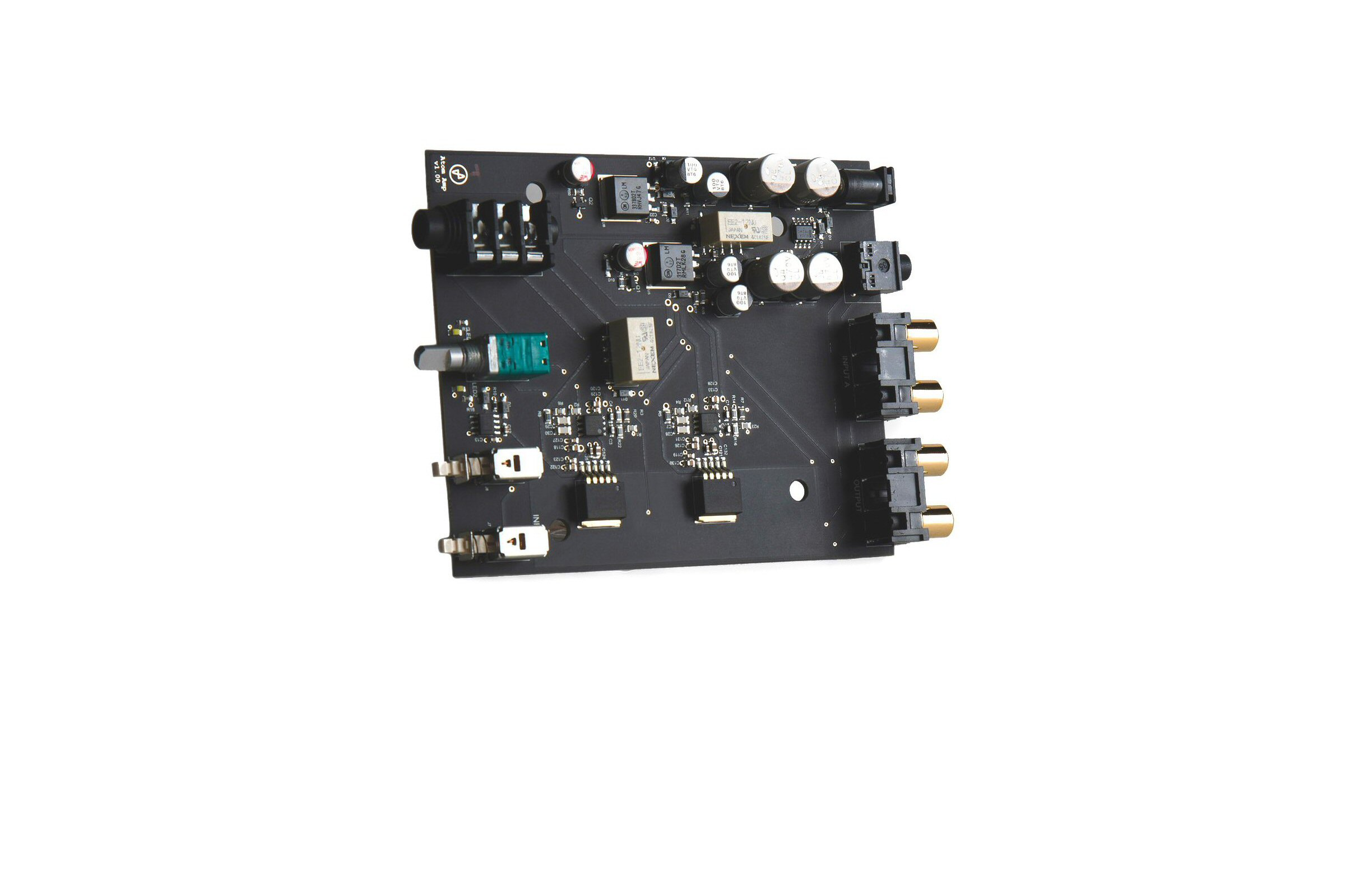 JDS Labs - Atom Amp - HEADPHONE AMPLIFIER + PREAMP